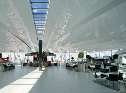 Porcelain floor and wall tiles for public places