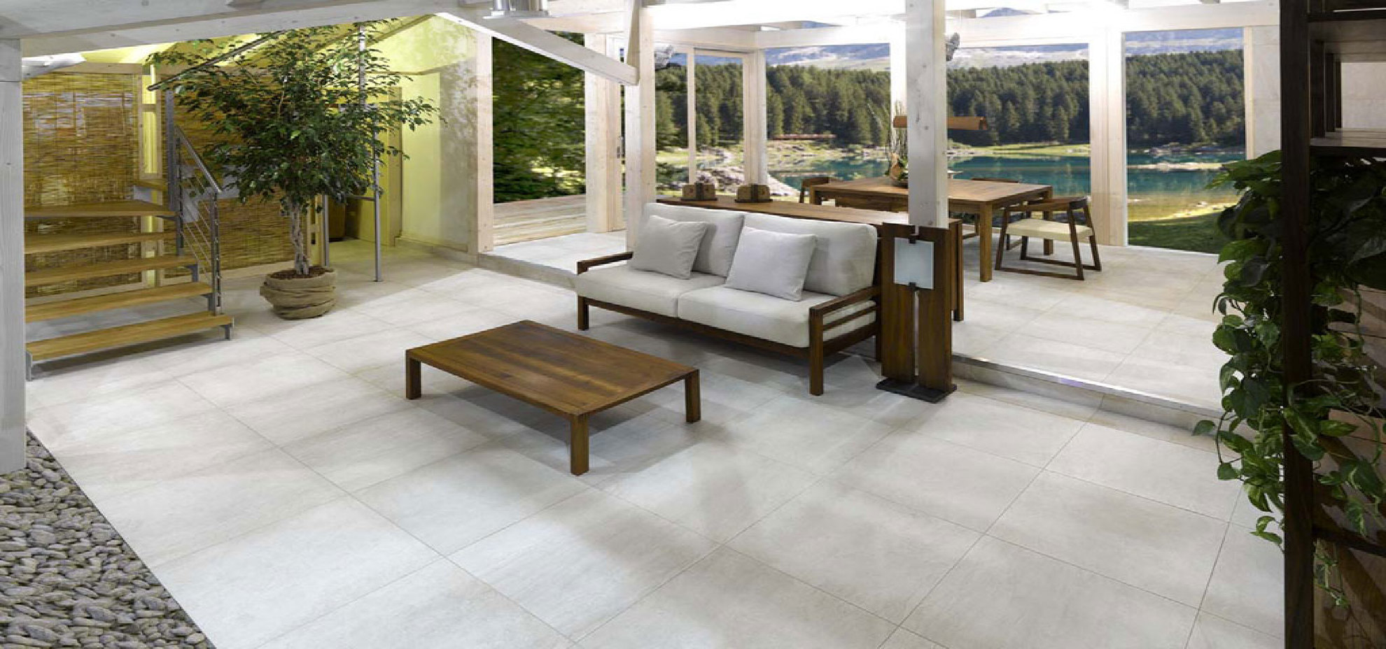 Porcelain Tiles For Outdoor Pavements: Solutions For Open