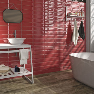 Porcelain tiles to enhance the atmosphere of domestic spaces
