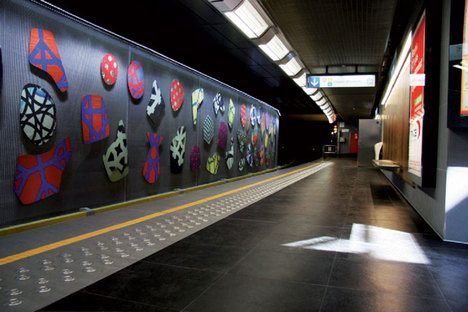 Floor and wall coverings for high traffic areas