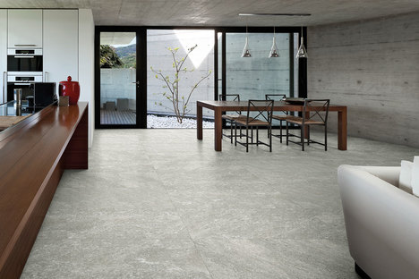 The energy of stone in Quartz_Stone porcelain flooring