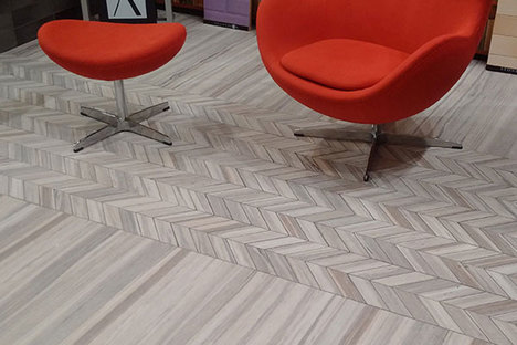 Customising and decorating surfaces with Stonepeak Zebrino