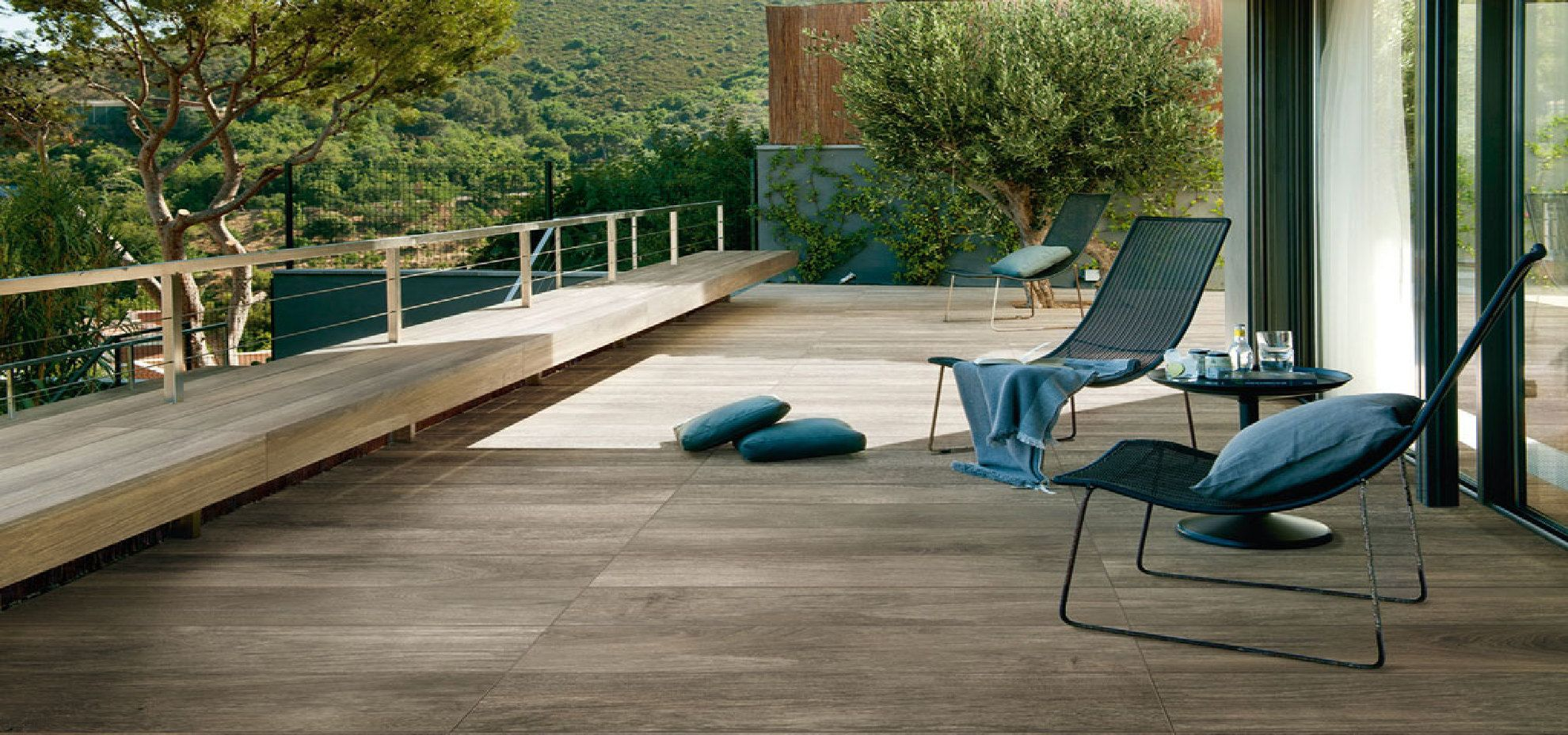 Superior French Woods: Wood Effect Porcelain Surfaces
