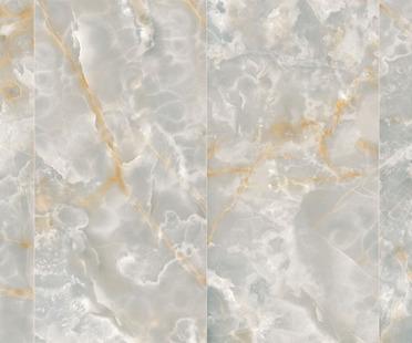 Ultra Ariostea: big porcelain stoneware slabs like onyx and metal