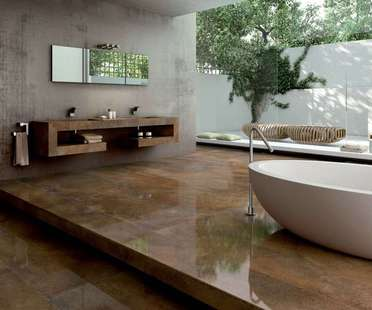 Porcelain tiles for contemporary spaces