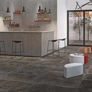Creating contemporary spaces with Stonepeak porcelain tiles