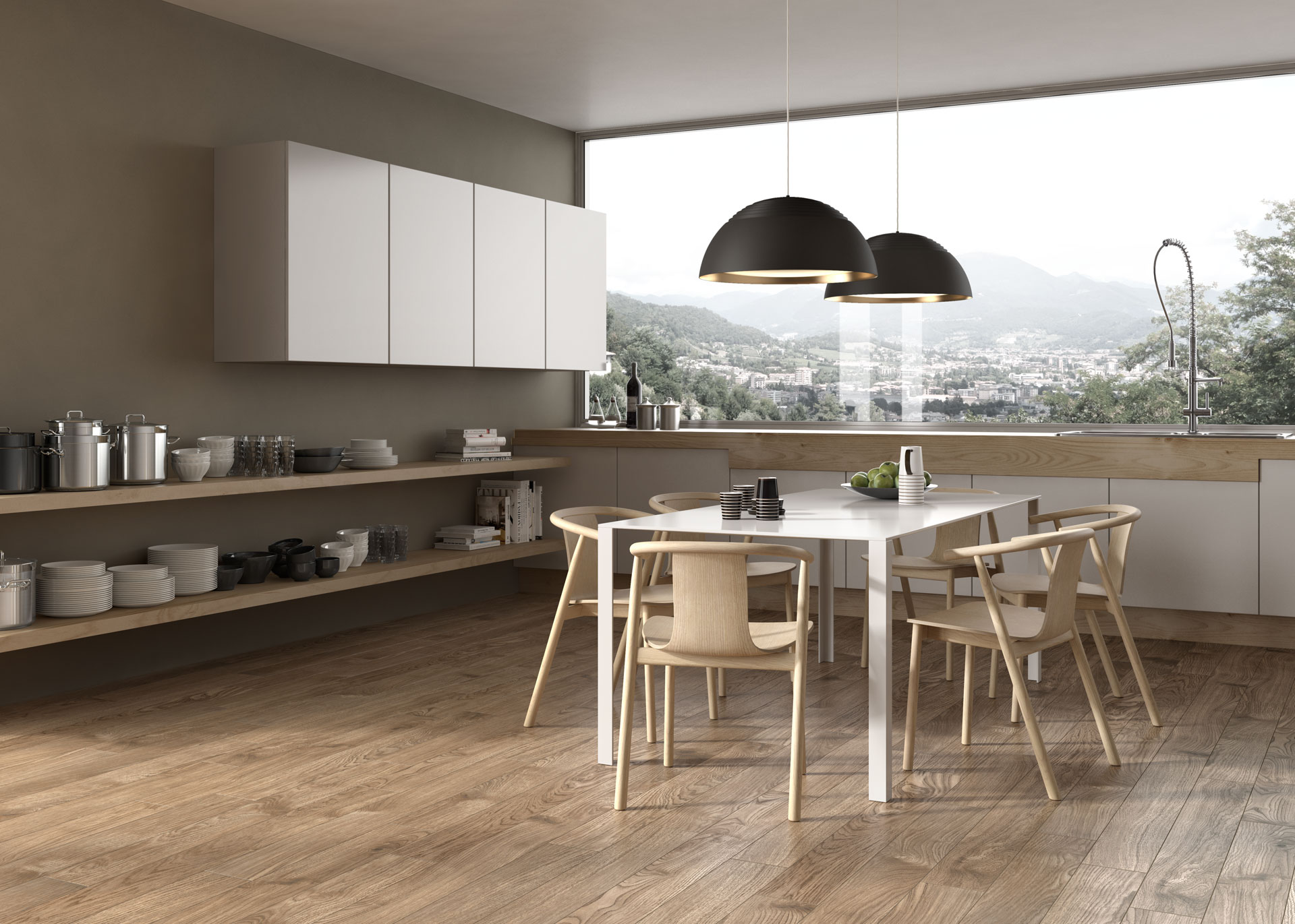 Porcelaingres: woodlike floors for homes in all styles | Floornature