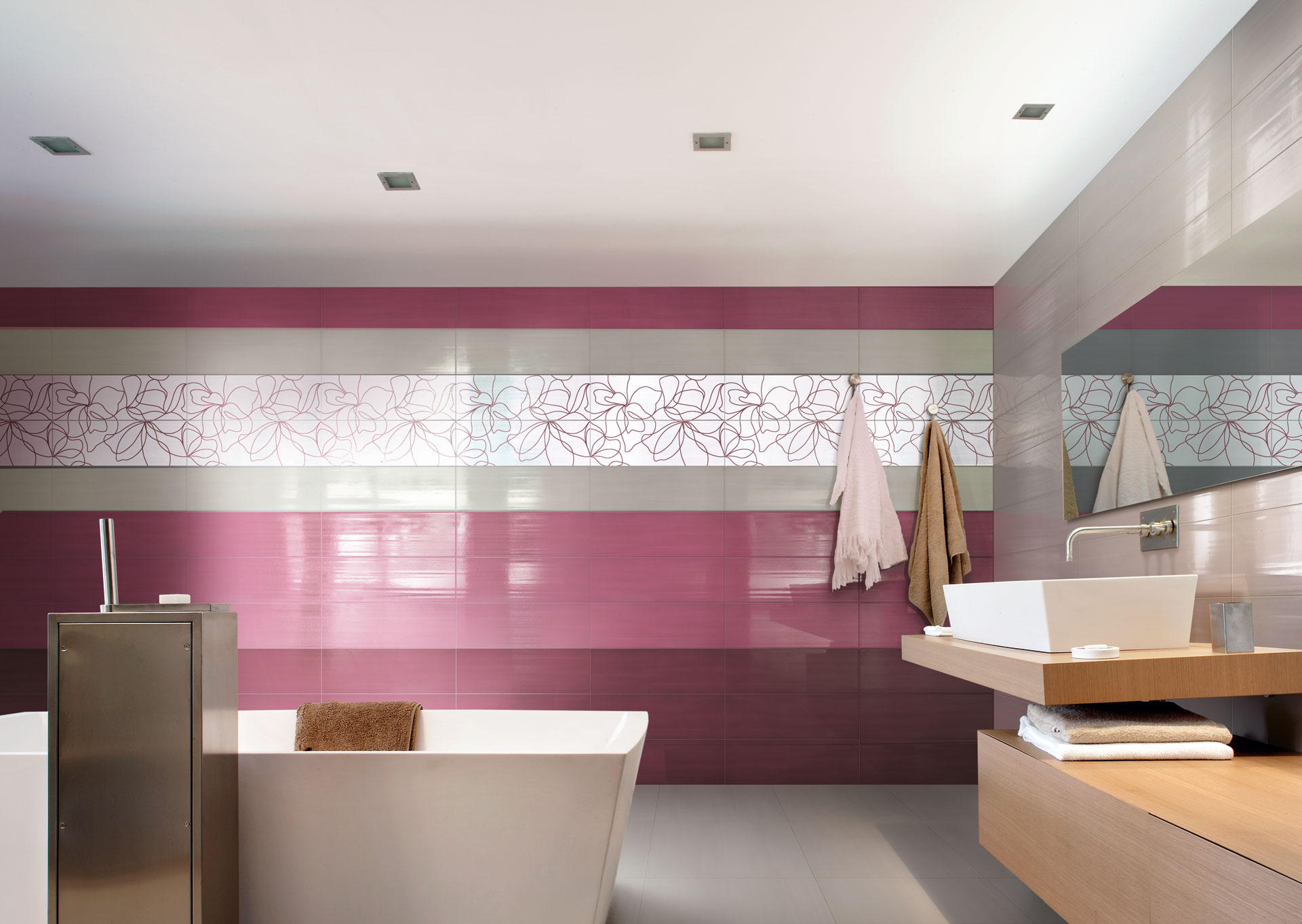 Soul Charme and Glamour: twin souls for adding colour to contemporary spaces