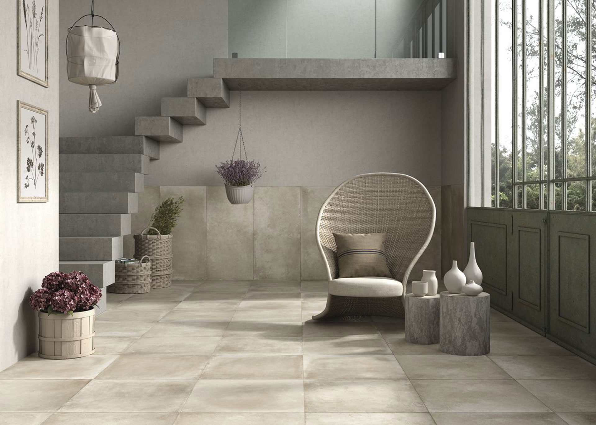 Porcelain stoneware: a traditional way of renovating
