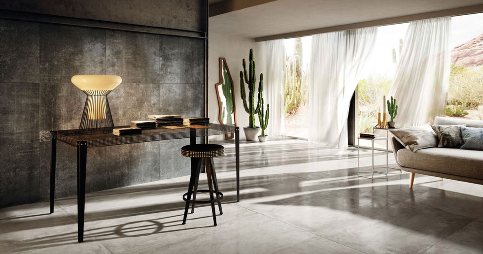 New contemporary floor and wall tiles from Diesel Living with Iris Ceramica