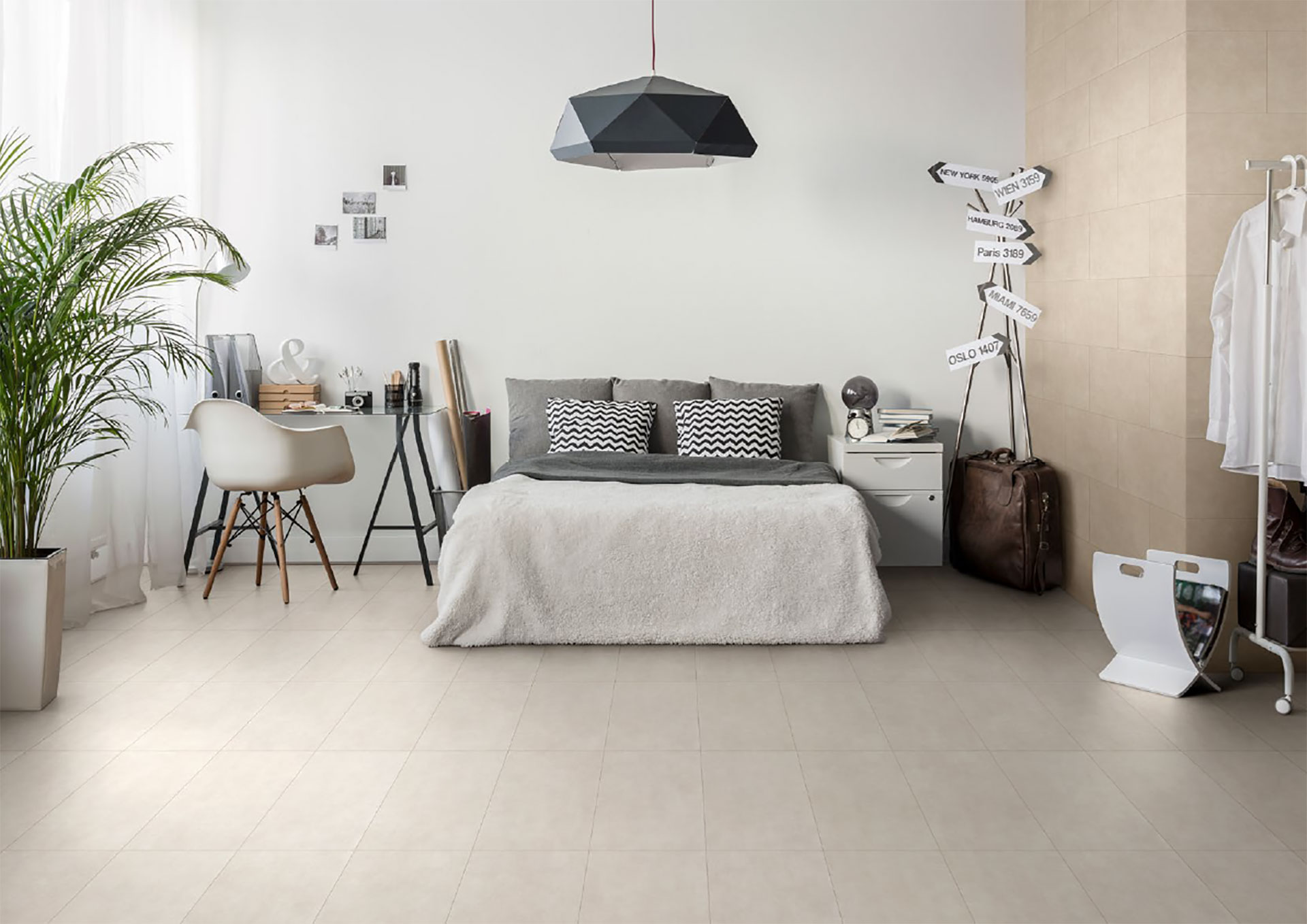 Urban living design: City and Mile Stone by Porcelaingres | Floornature