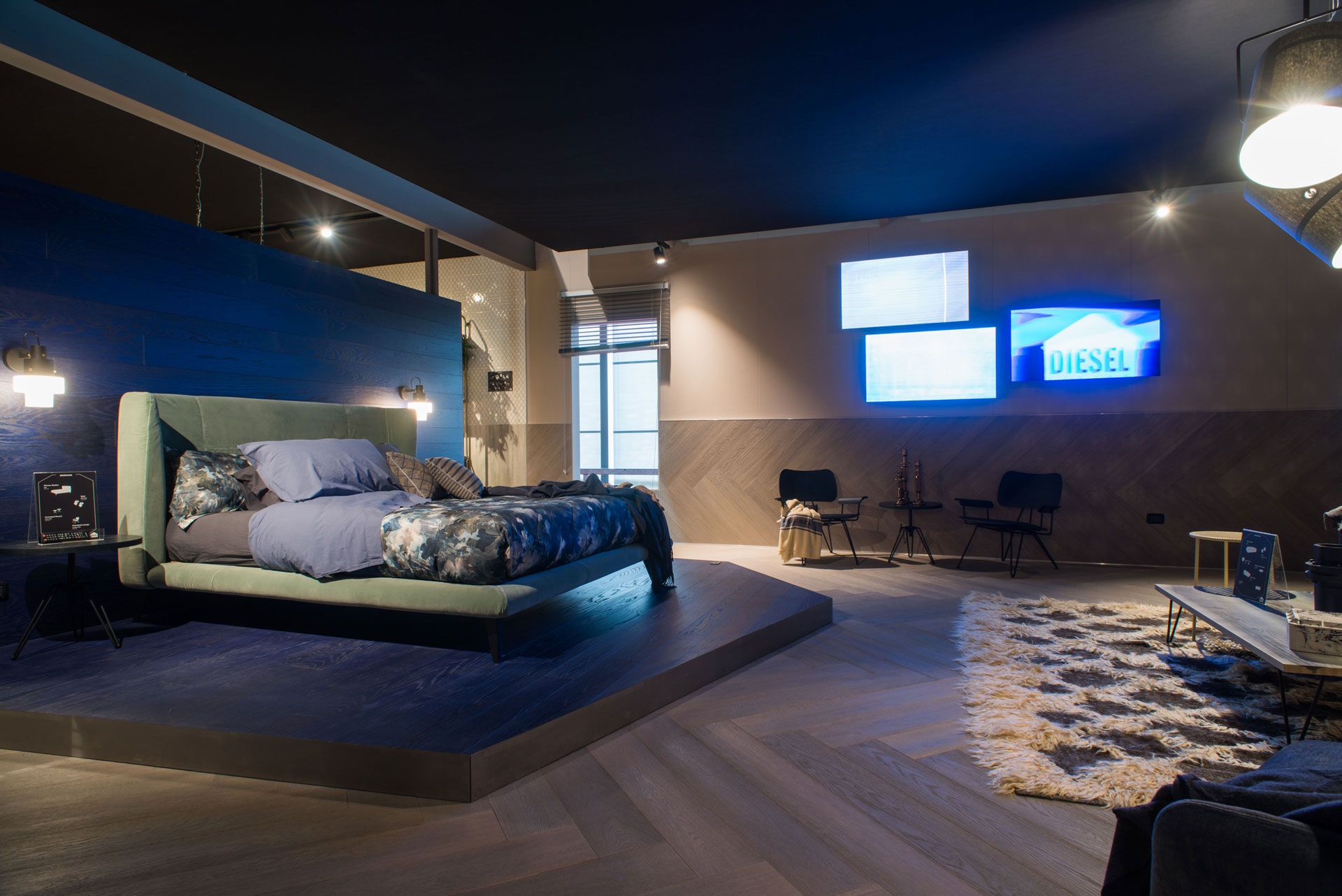 Diesel Living with Iris Ceramica: new atmospheres for the homestyle ...