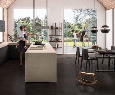 SapienStone: the first porcelain brand for kitchen countertops