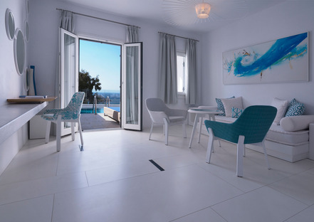 Ultra Ariostea: floors and walls for luxury hotels and villas in the Mediterranean