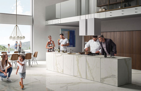 The SapienStone kitchen top: the ideal surface for the home and restaurants