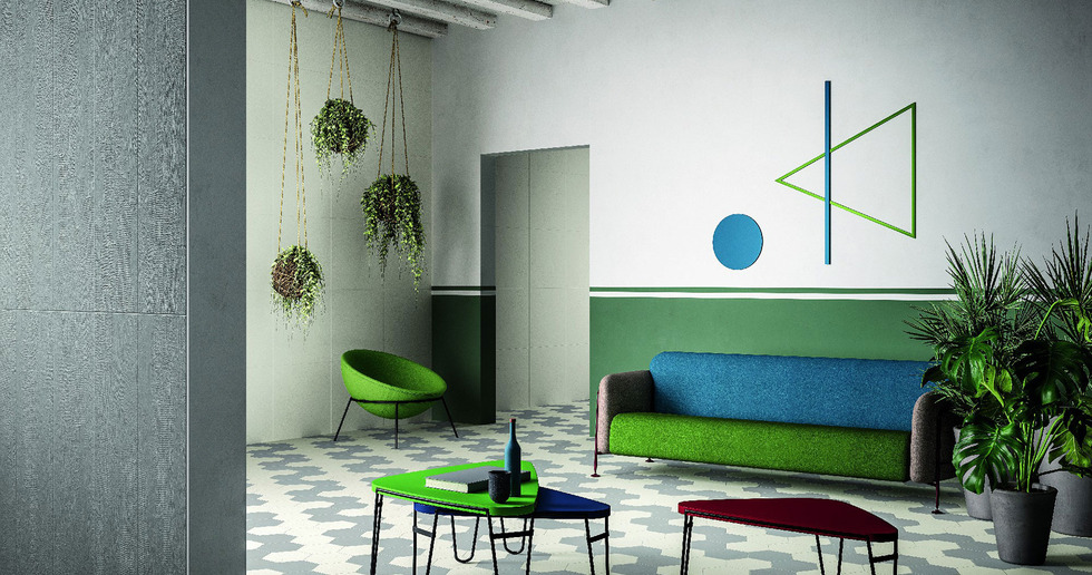 MUSA+ floor and wall coverings to customise the home