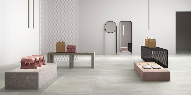 Fahrenheit GranitiFiandre: floors for a colourful 2018