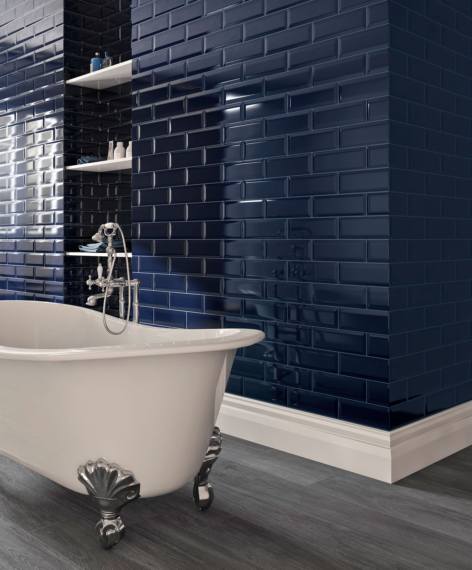 Adamas kitchen and bathroom tiles: new horizons for high-tech ceramics