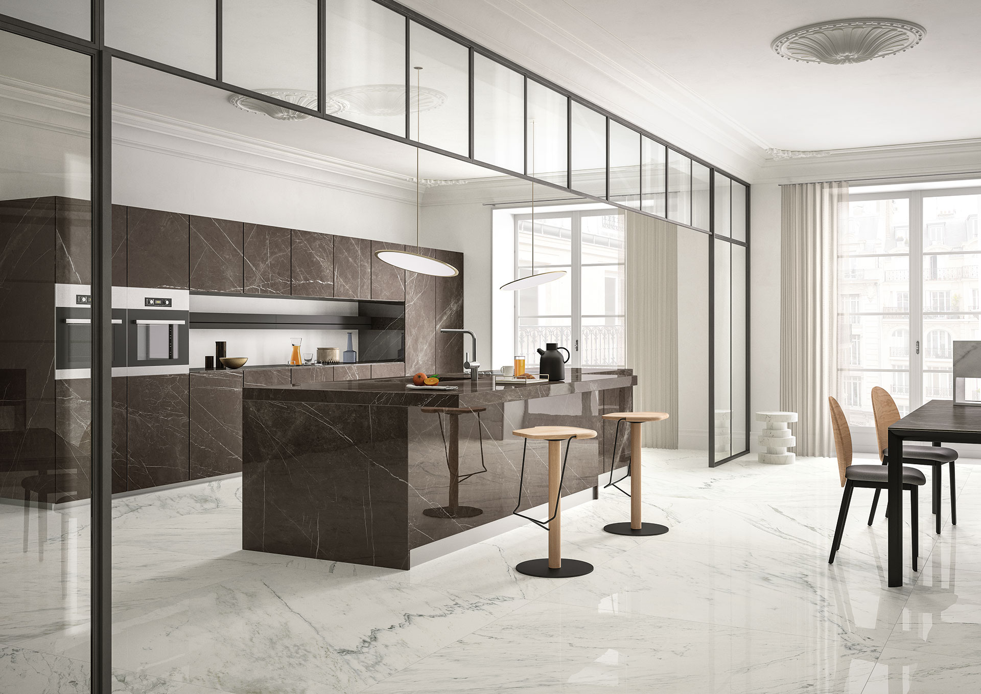 SapienStone: the best porcelain worktop and kitchen countertop