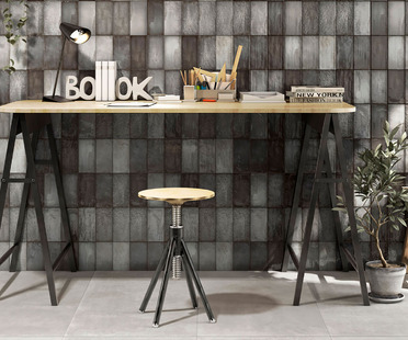 Iris Ceramica: customising walls with Quayside and Lol coverings