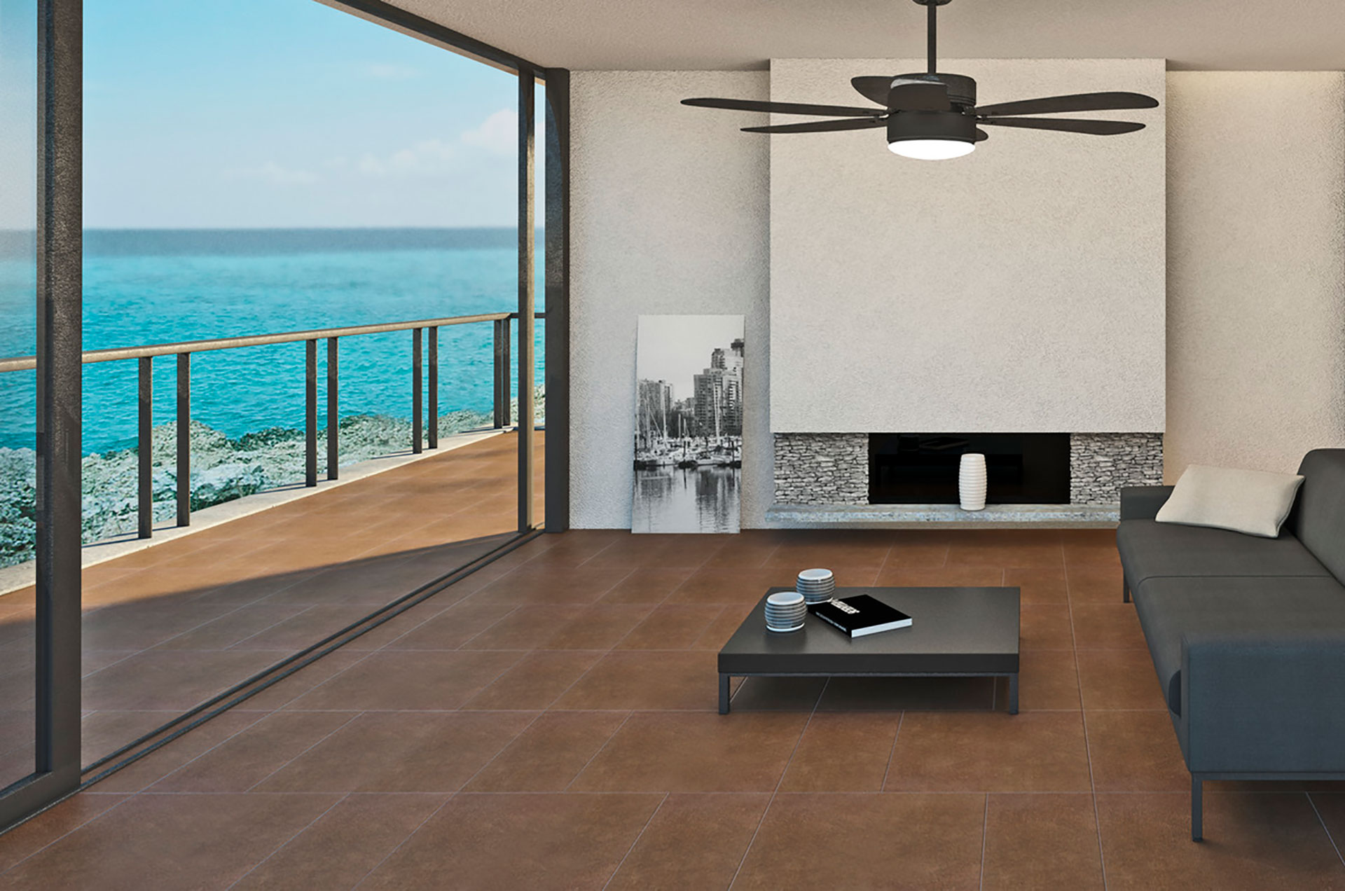 Ariostea porcelain: from nature to high-tech