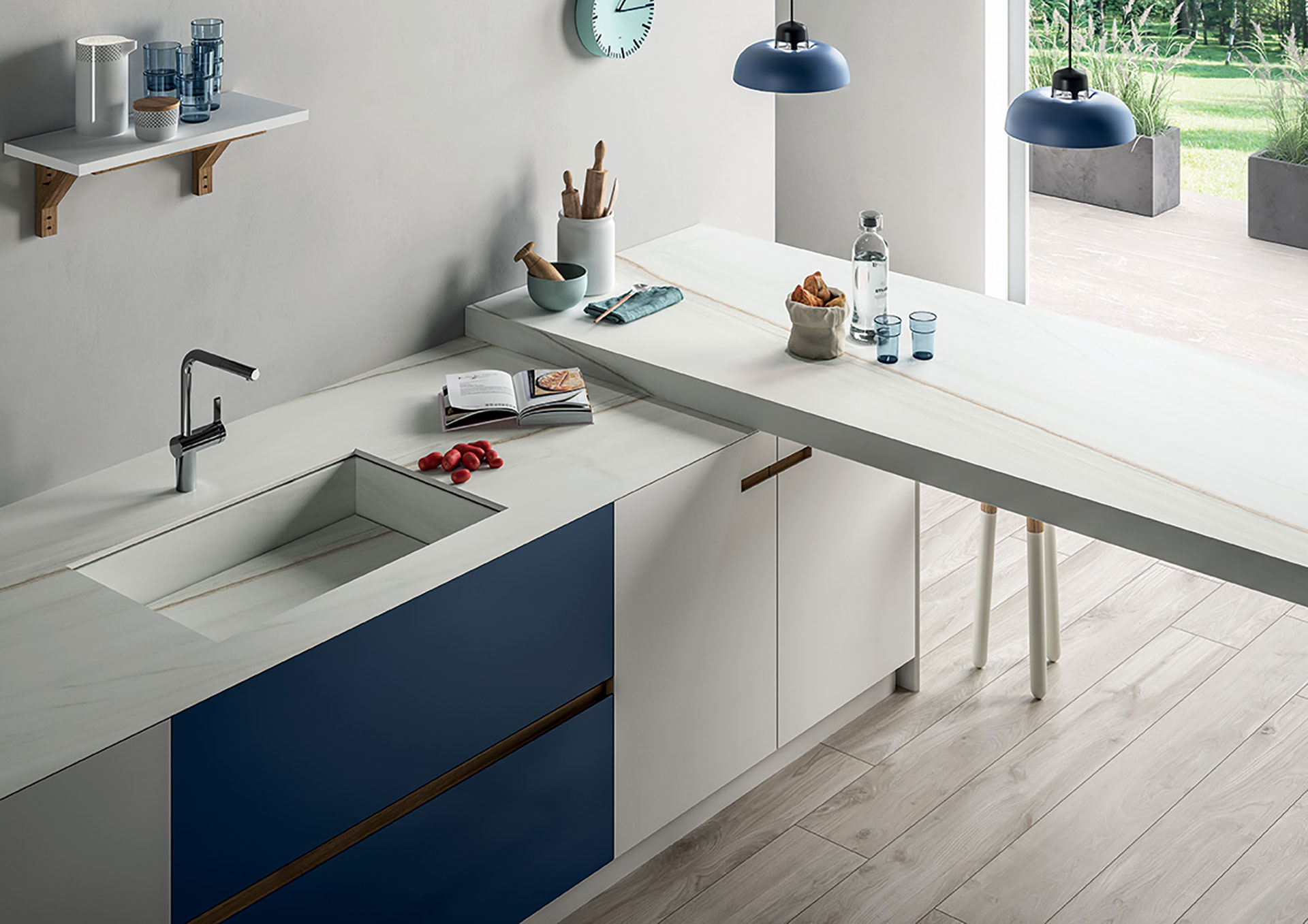 Piano Cucina Gres Opinioni sapienstone: top quality porcelain becomes a kitchen