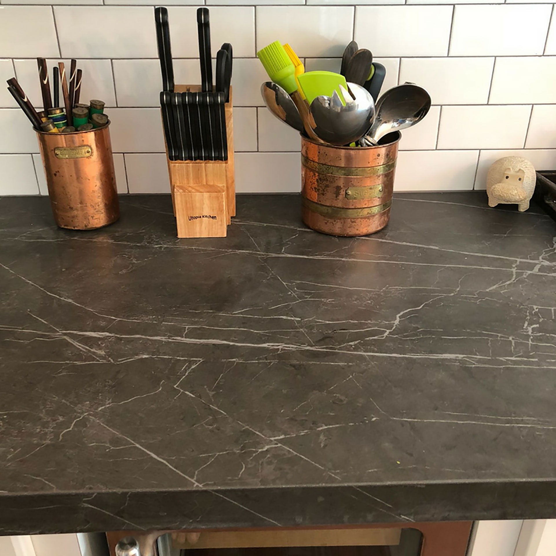 SapienStone: top quality porcelain becomes a kitchen countertop