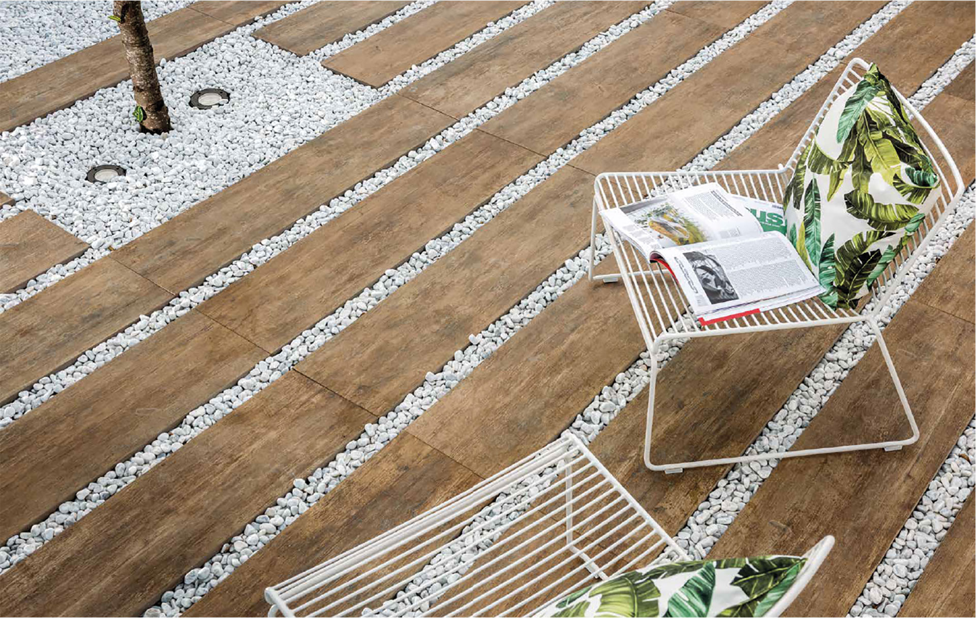 CM2 Ariostea: porcelain surfaces for outdoor use