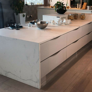 SapienStone: aesthetics and innovation of kitchen countertops
