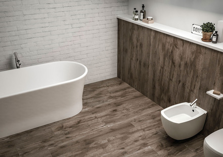 Design ideas: wood effect porcelain stoneware for every style of home