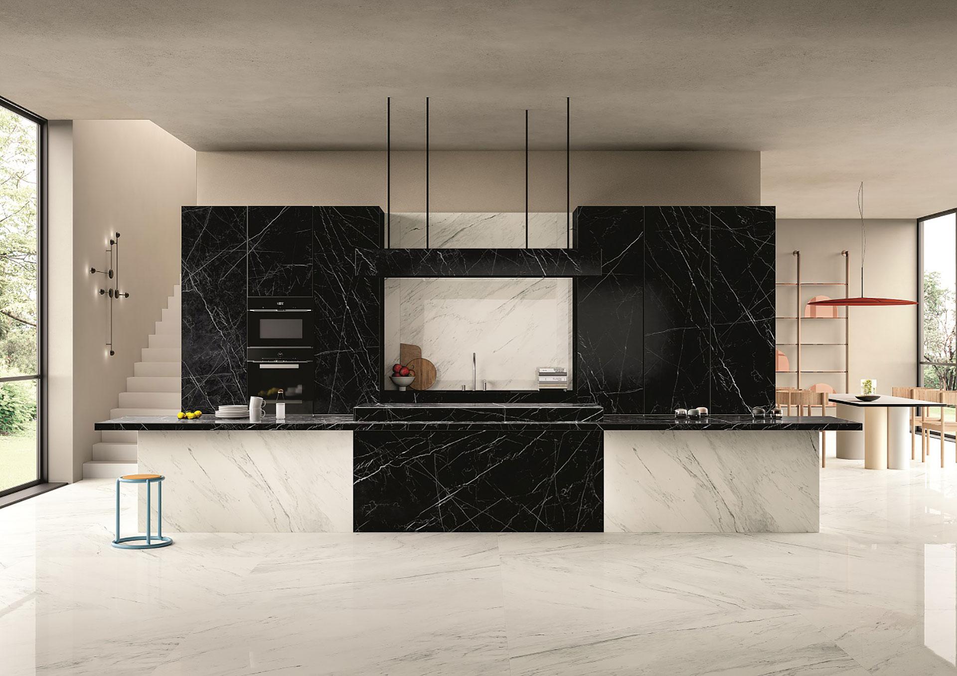 Design trends 2019: SapienStone kitchen tops | Floornature