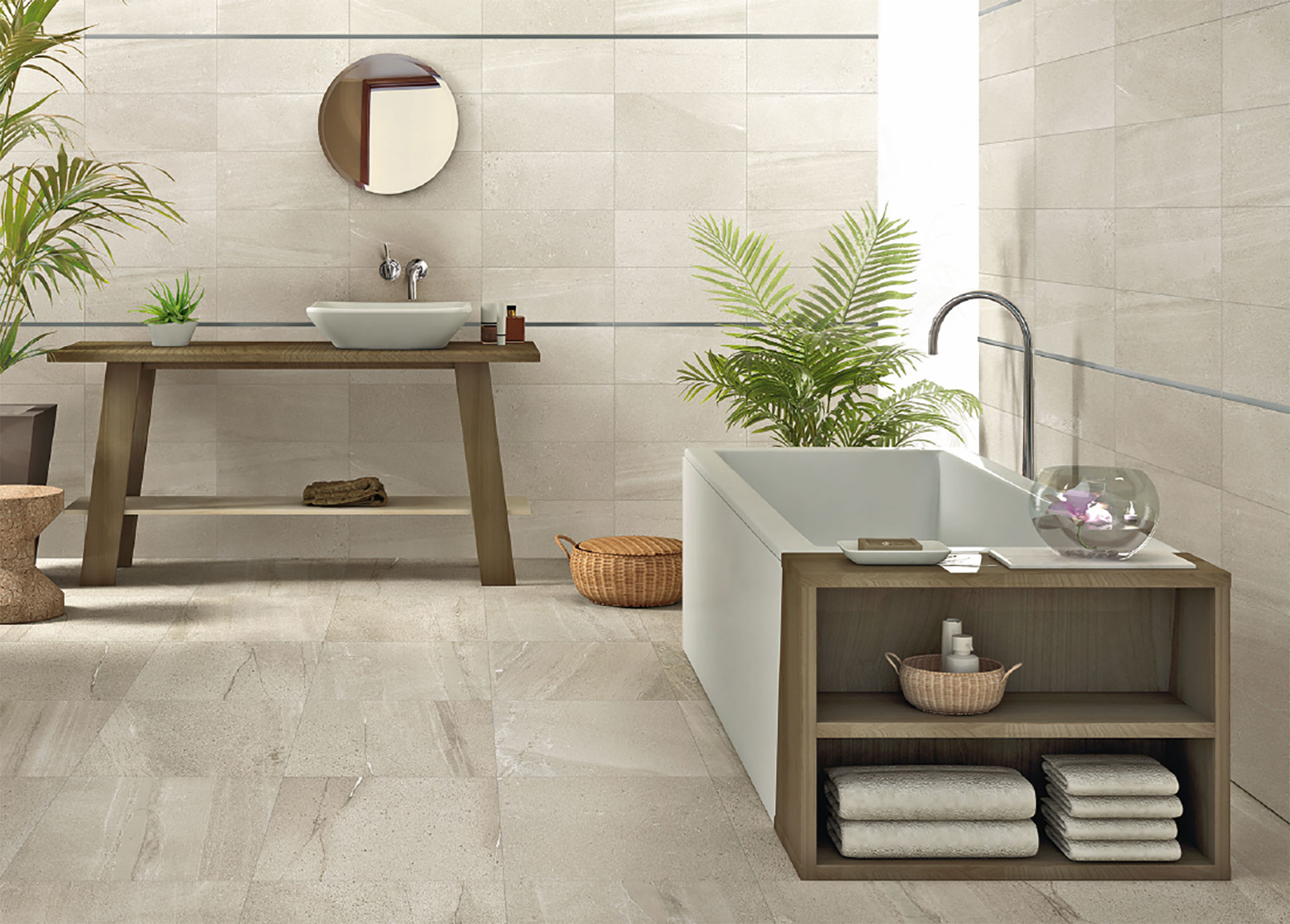Bathrooms And Kitchens Classic And Modern Design From Iris Ceramica Floornature