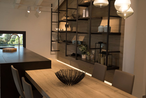 Wood-effect kitchen countertops: SapienStone's new Rovere collection