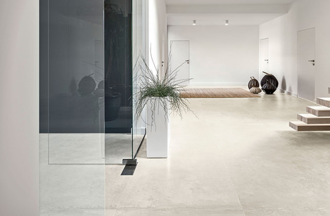 New inspiration for the minimalist style: Ariostea's CON.CREA. and Blend.HT