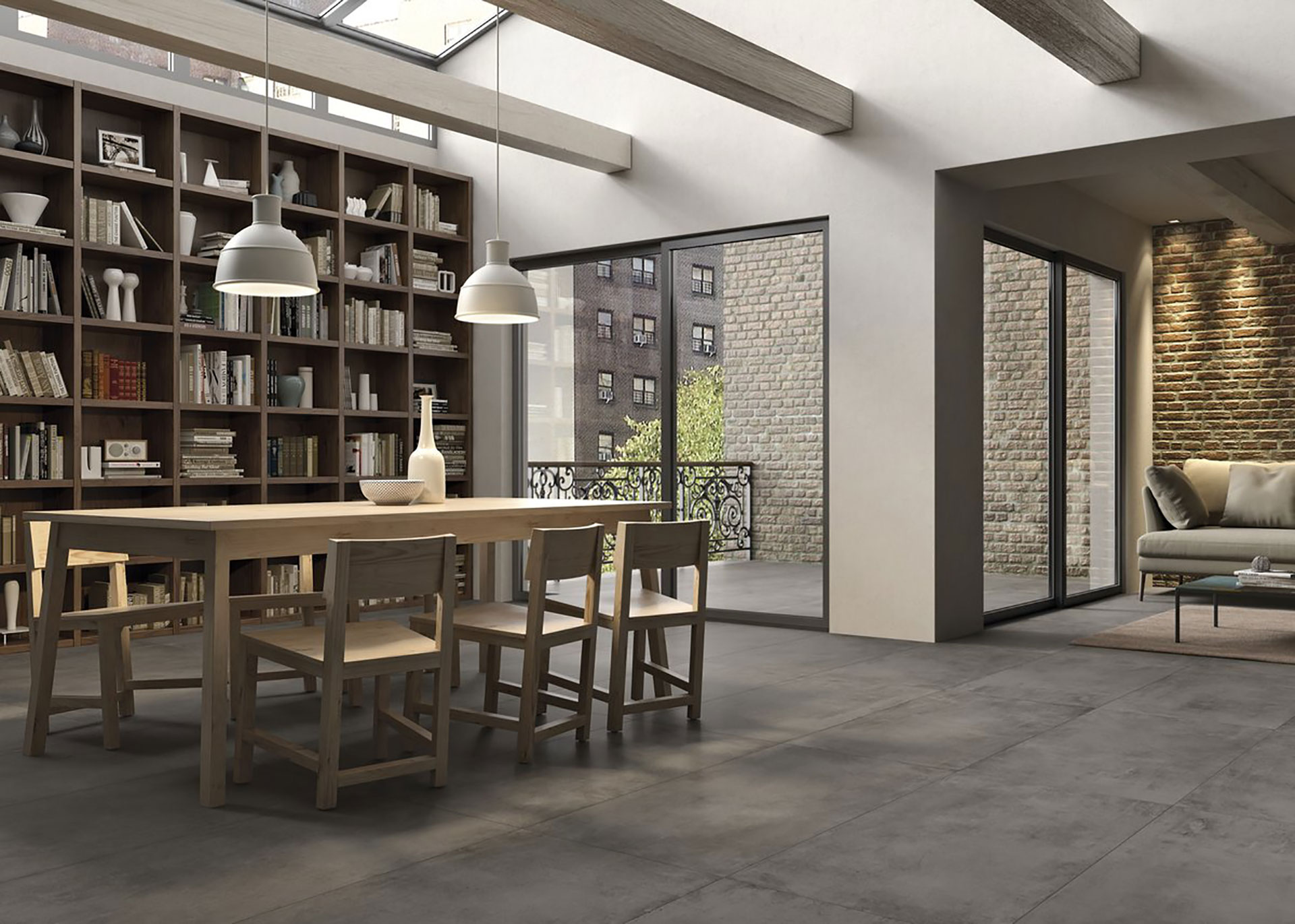 Porcelaingres Outdoor Surface Coverings Stone Cement And