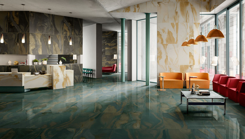 Cosmic Marble and Metal Perf surfaces: unbridled creativity and imagination