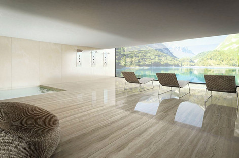 Floors, walls and designer applications with Ultra Marmi by Ariostea