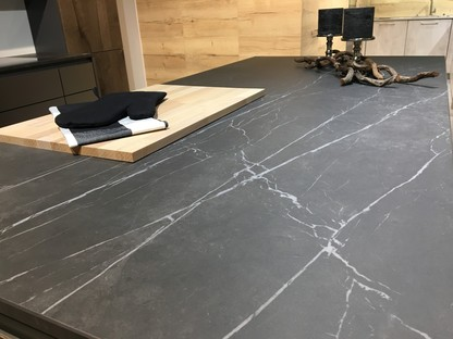 SapienStone Pietra Grey for a kitchen with a refined contemporary look