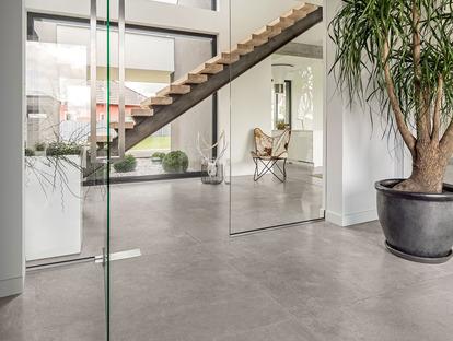 CON.CREA. concrete and resin-effect tiles for contemporary, minimalist style