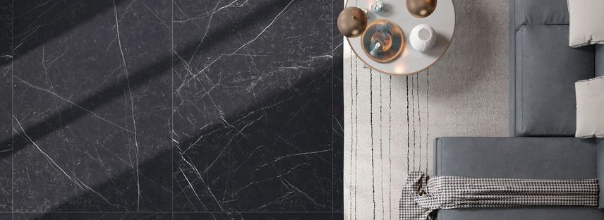 The elegance and charm of dark surfaces: Maxfine FMG marble