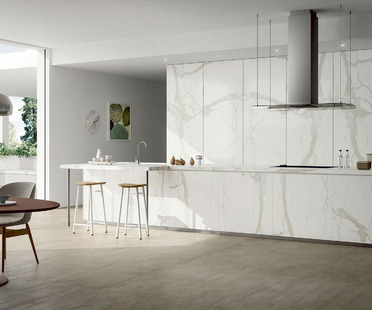 SapienStone: open-plan kitchens, islands and peninsulas