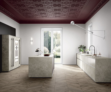 Resistance and beauty: SapienStone porcelain for the kitchen in 2020