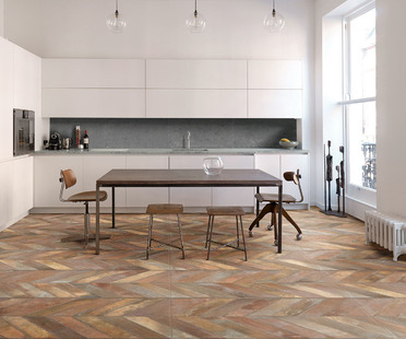 Wood, stone, terra cotta and majolica: the variety and fantasy of Whole floors