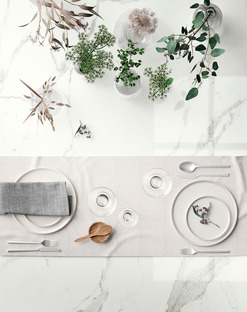 Bright, white and welcoming: the SapienStone Calacatta countertop for the kitchen of 2020