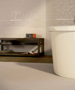 Beauty and practicality: the Iris Ceramica made-to-measure bathroom