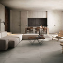 The living room, between traditional and contemporary