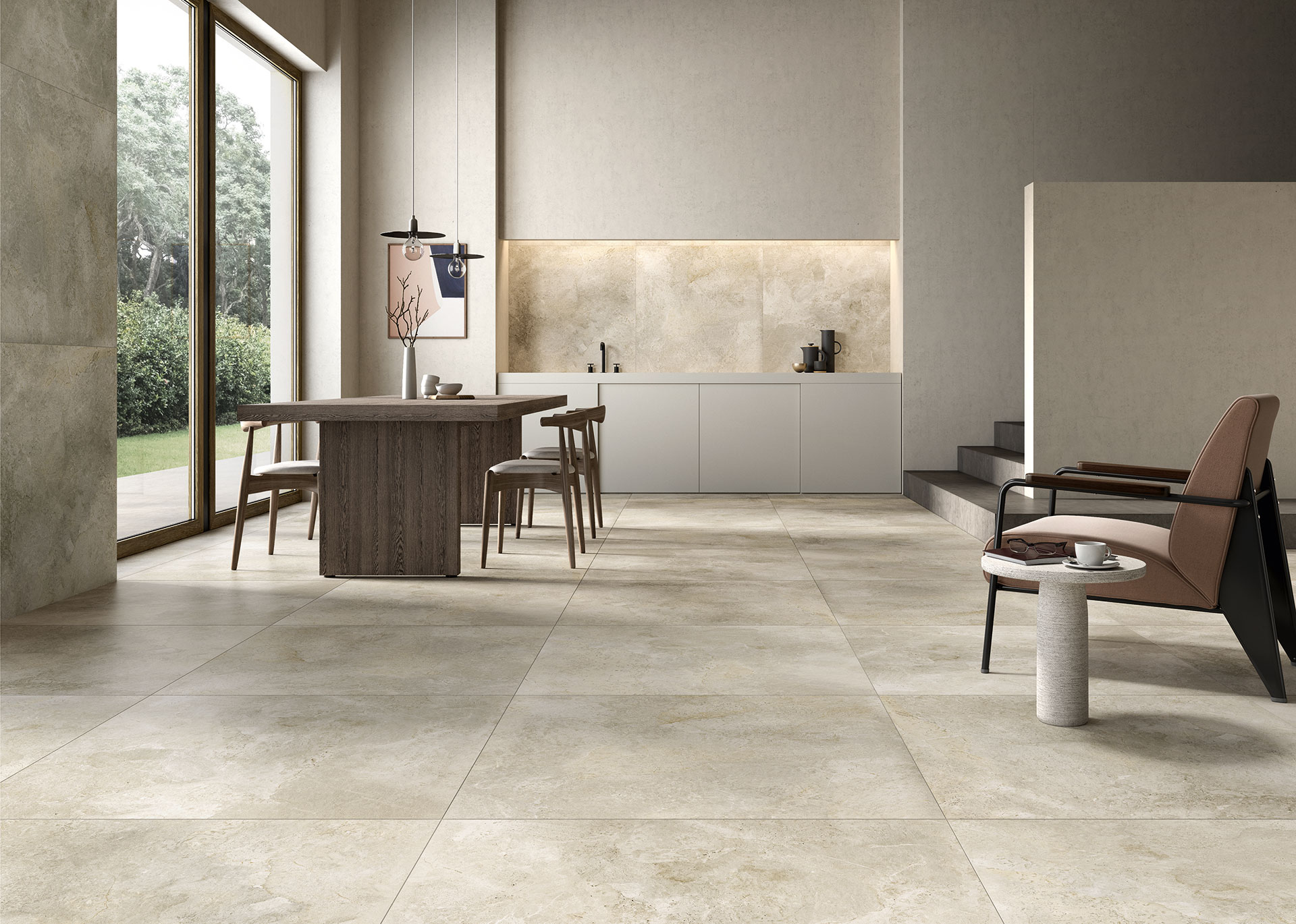 The harmony of marble and stone: Royal Stone floors and walls ...