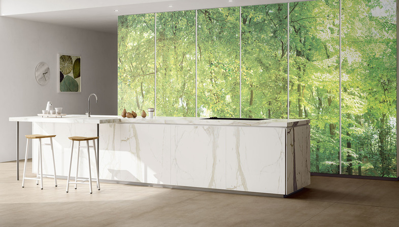 DYS Design Your Slabs: decorate and customise ceramic slabs for all kinds of spaces