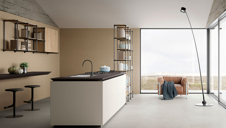 Improving the quality of the kitchen with a functional, rational countertop
