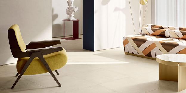 Fiandre high-tech ceramic for simple, bright, custom-designed spaces